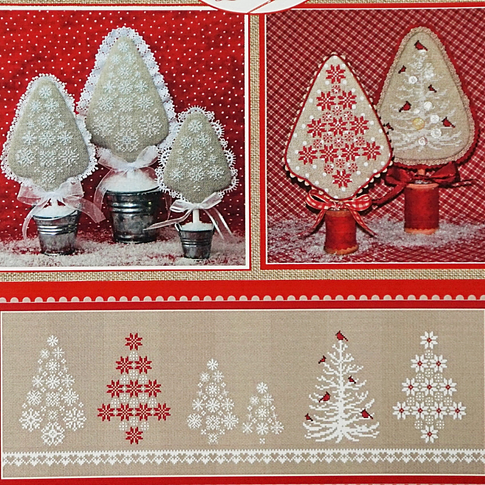 A Wintry Mix counted cross stitch chart