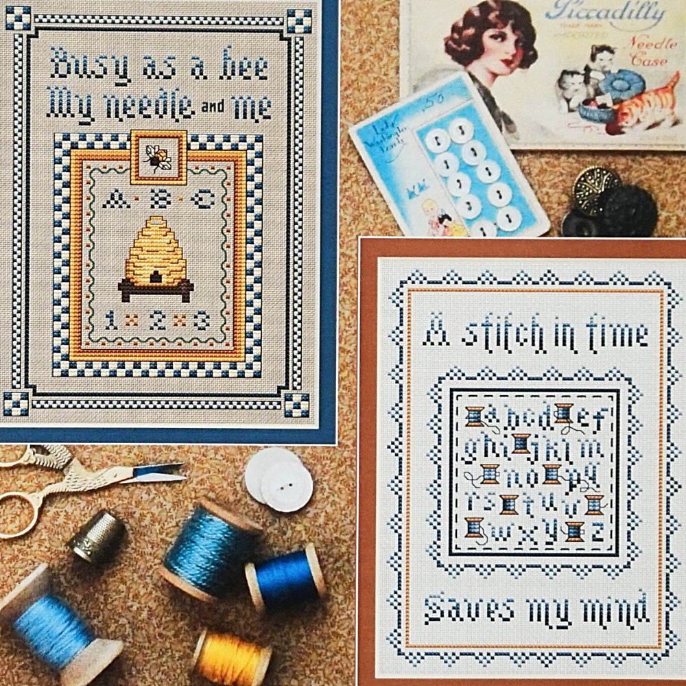Stitches for the Needleworker counted cross stitch chart