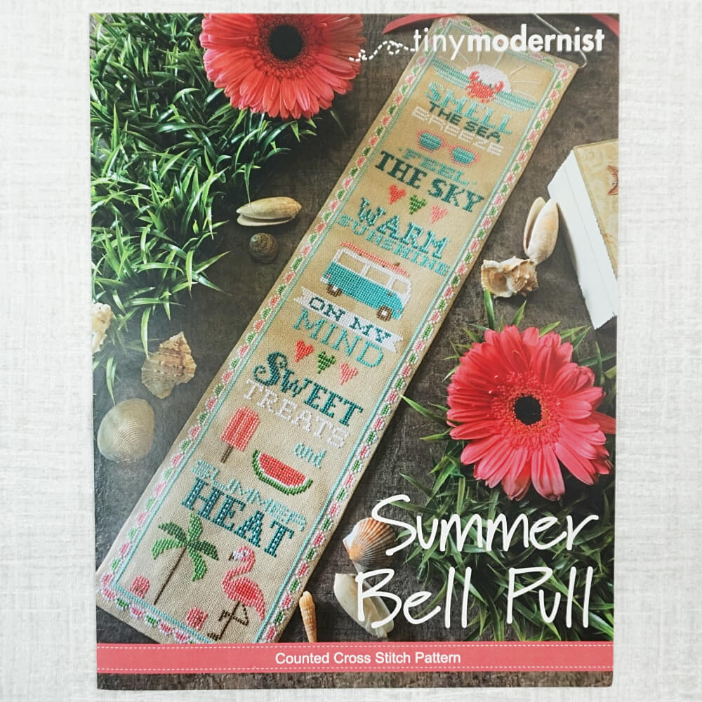 Summer Bell Pull pattern by Tiny Modernist