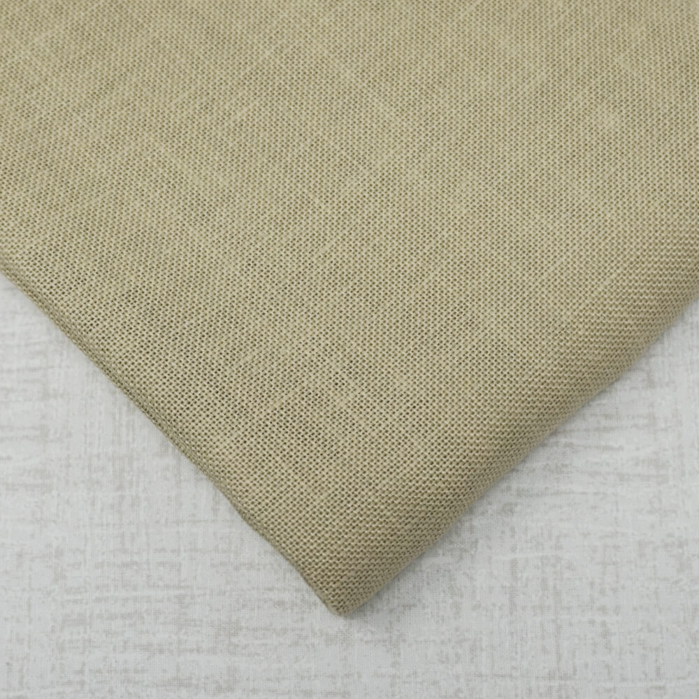 Summer Khaki 28 count linen by Zweigart