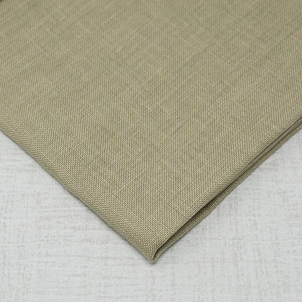 Summer Khaki 32 count linen by Zweigart