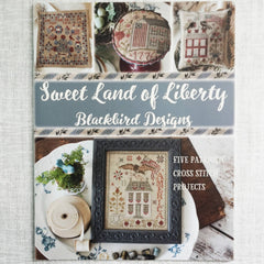 Sweet Land of Liberty Cross Stitch Pattern Booklet | Blackbird Designs