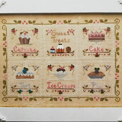 Sweet Treats Cross Stitch Pattern | Country Cottage Needleworks