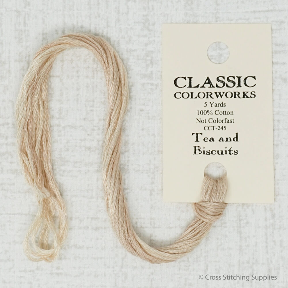 Tea and Biscuits Classic Colorworks embroidery thread