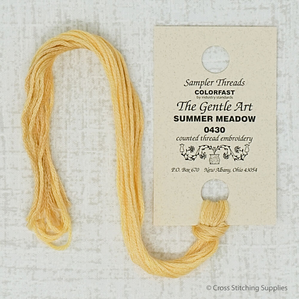 Summer Meadow The Gentle Art embroidery floss