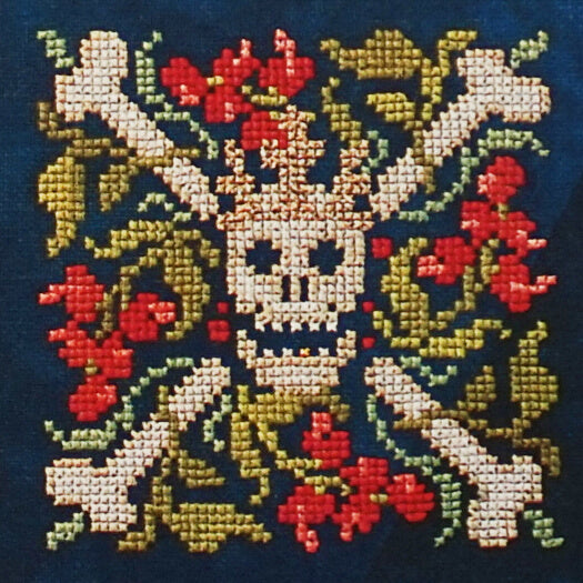 The Queen That Was counted cross stitch pattern