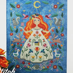 The Stitch Goddess counted cross stitch pattern
