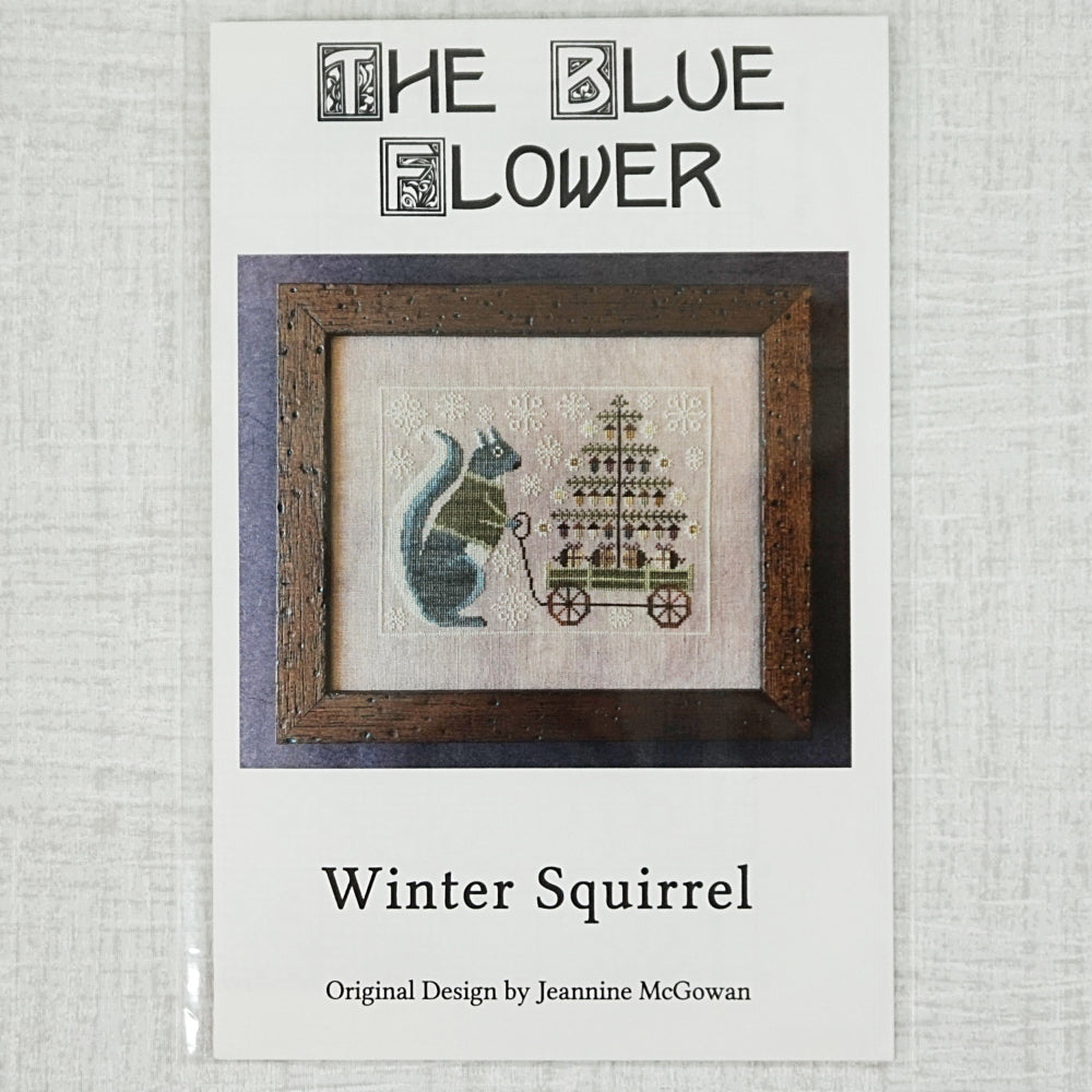 Winter Squirrel by The Blue Flower