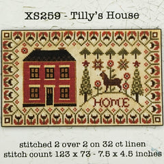 Tilly's House Cross Stitch Pattern | Teresa Kogut