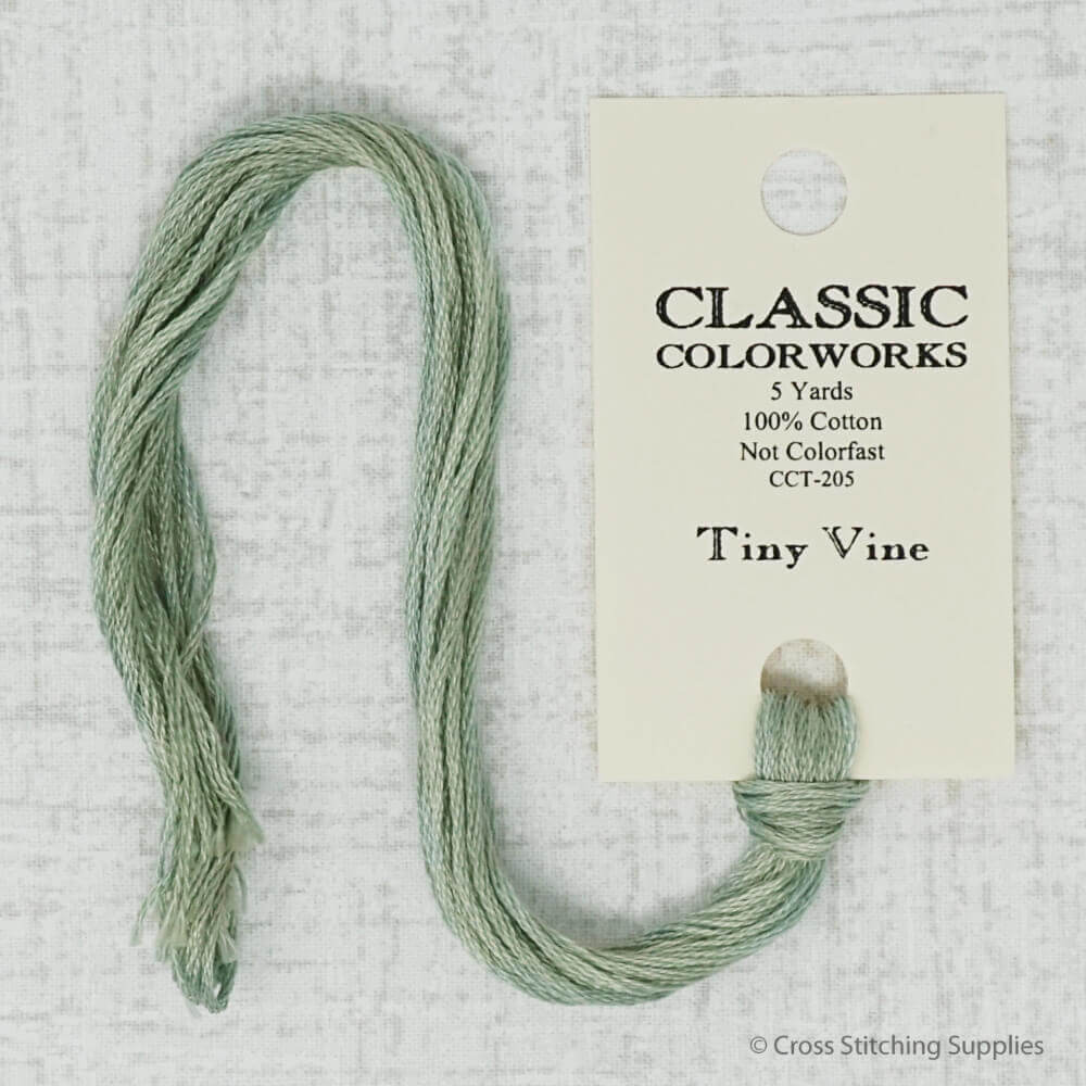 Tiny Vine Classic Colorworks embroidery thread