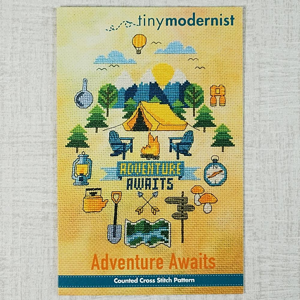 Adventure Awaits by Tiny Modernist