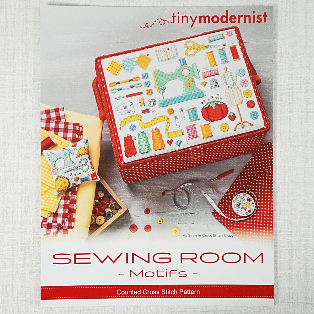 Sewing Room Motifs by Tiny Modernist for sale