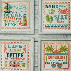 Summer Signs Cross Stitch Patterns | Tiny Modernist