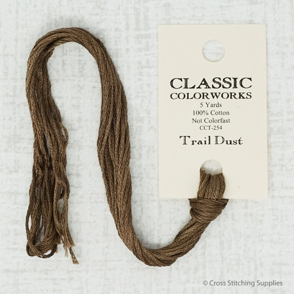 Trail Dust Classic Colorworks embroidery floss