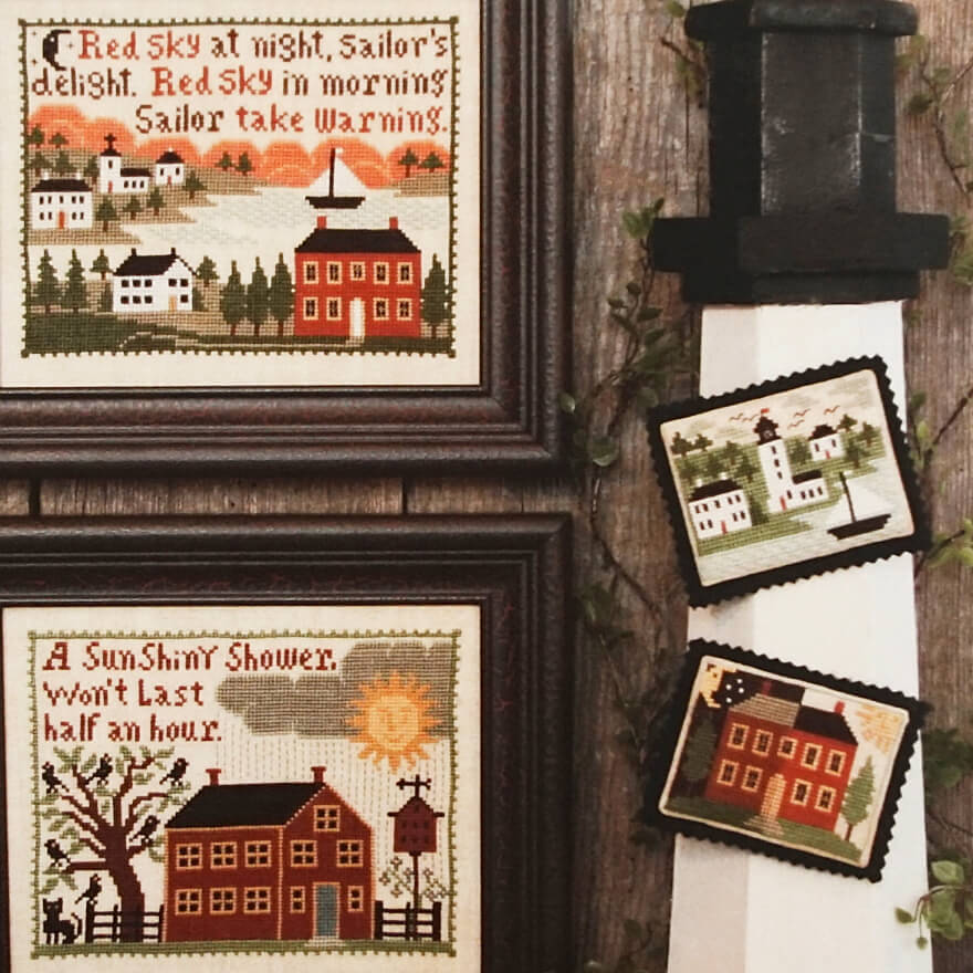 Weather Wise counted cross stitch pattern