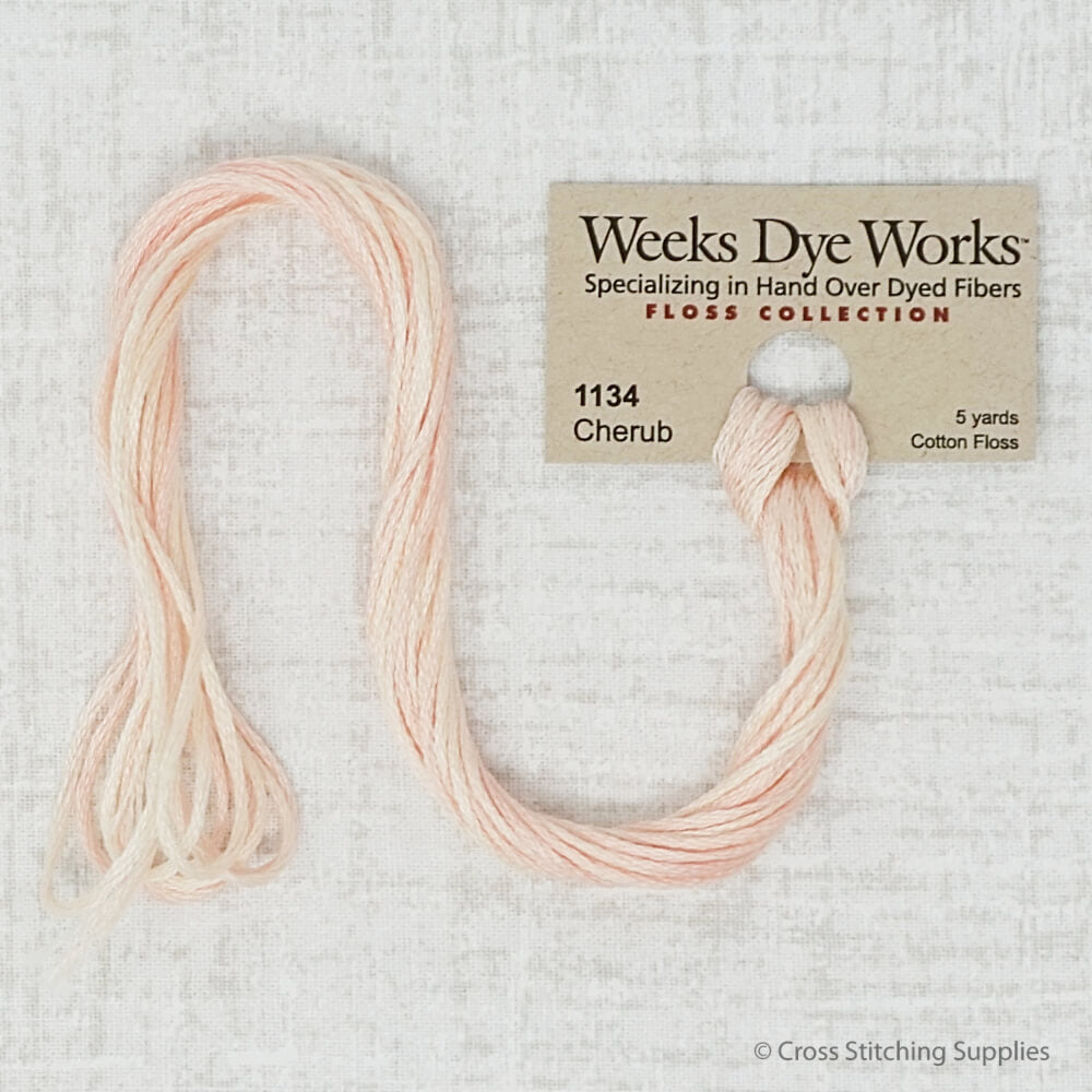 Cherub Weeks Dye Works embroidery thread
