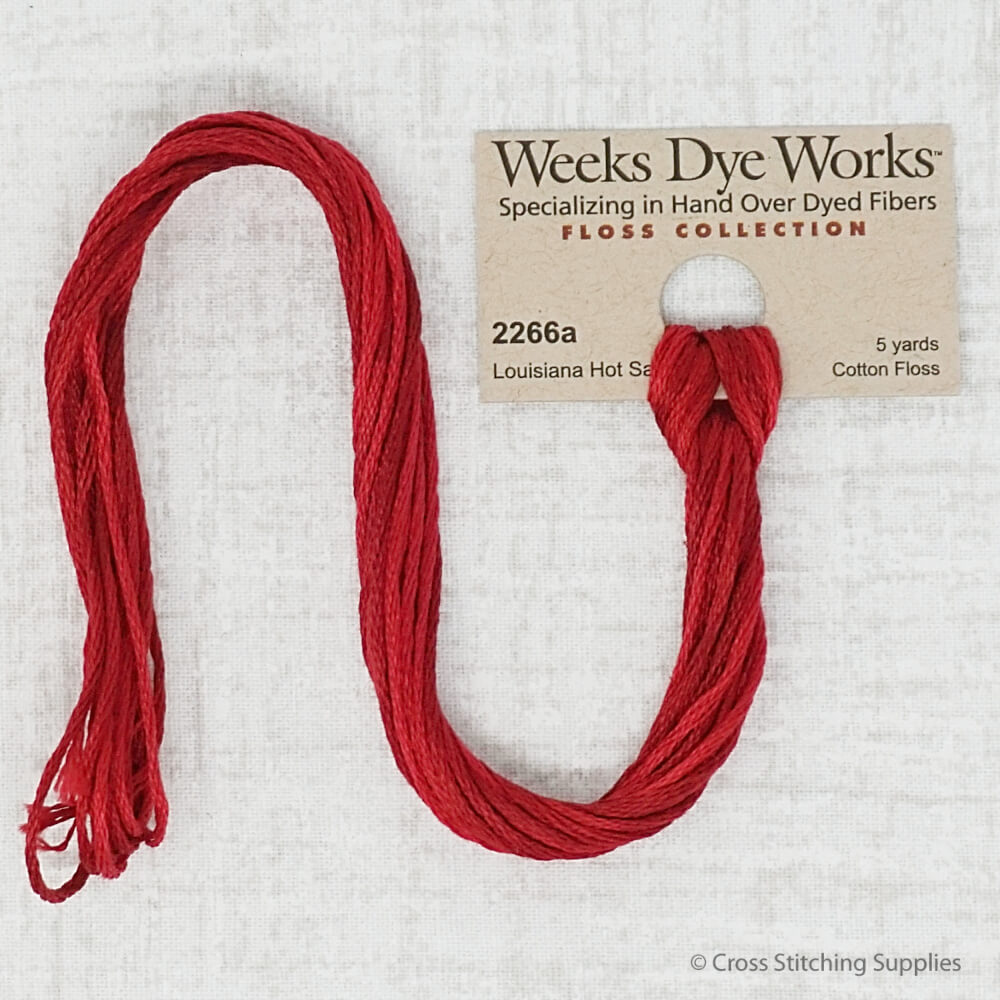 Louisiana Hot Sauce Weeks Dye Works embroidery thread