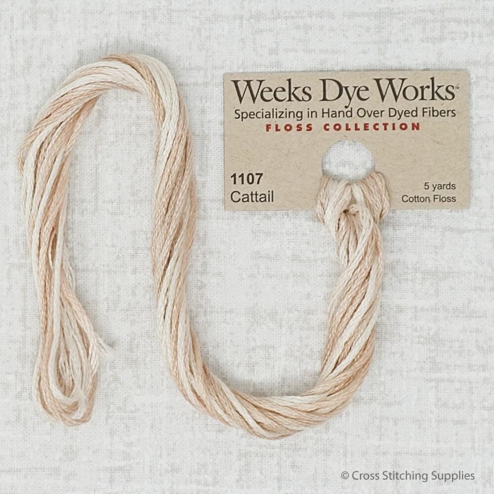 Cattail Weeks Dye Works embroidery thread