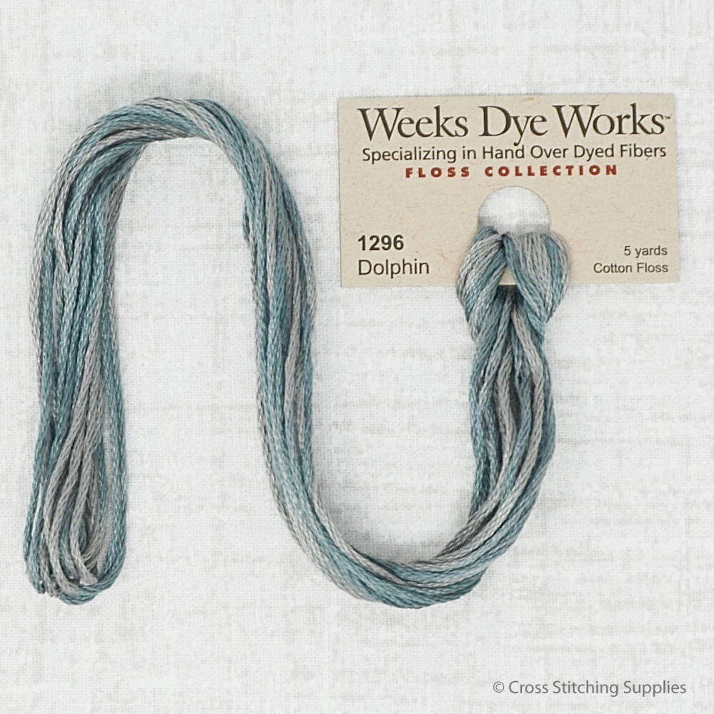 Dolphin Weeks Dye Works embroidery thread