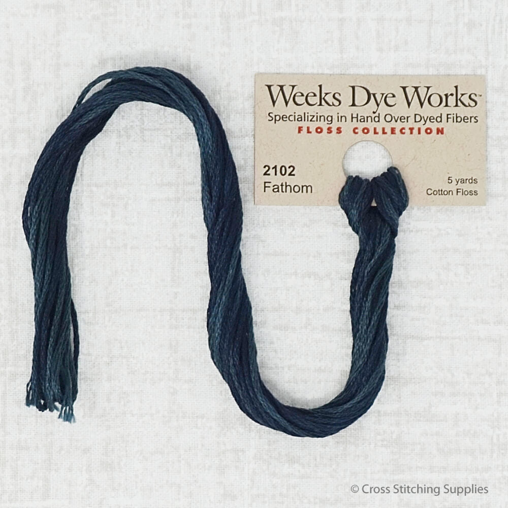 Fathom Weeks Dye Works embroidery thread