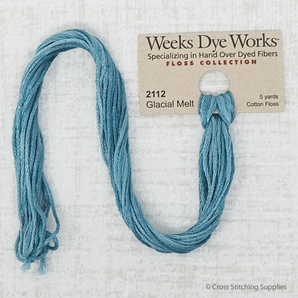 Glacial Melt Weeks Dye Works embroidery thread