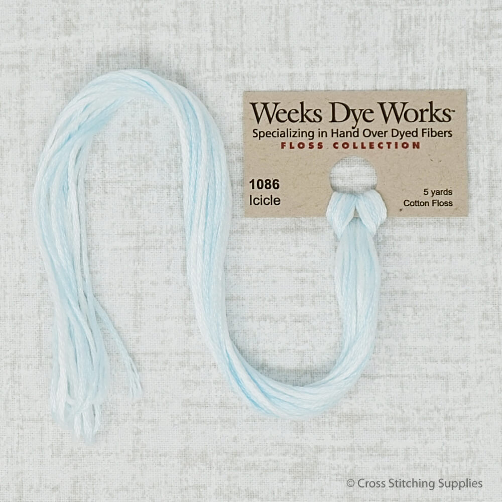 Icicle Weeks Dye Works embroidery thread