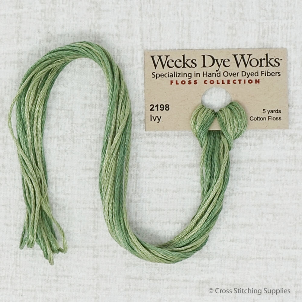 Ivy Weeks Dye Works embroidery thread
