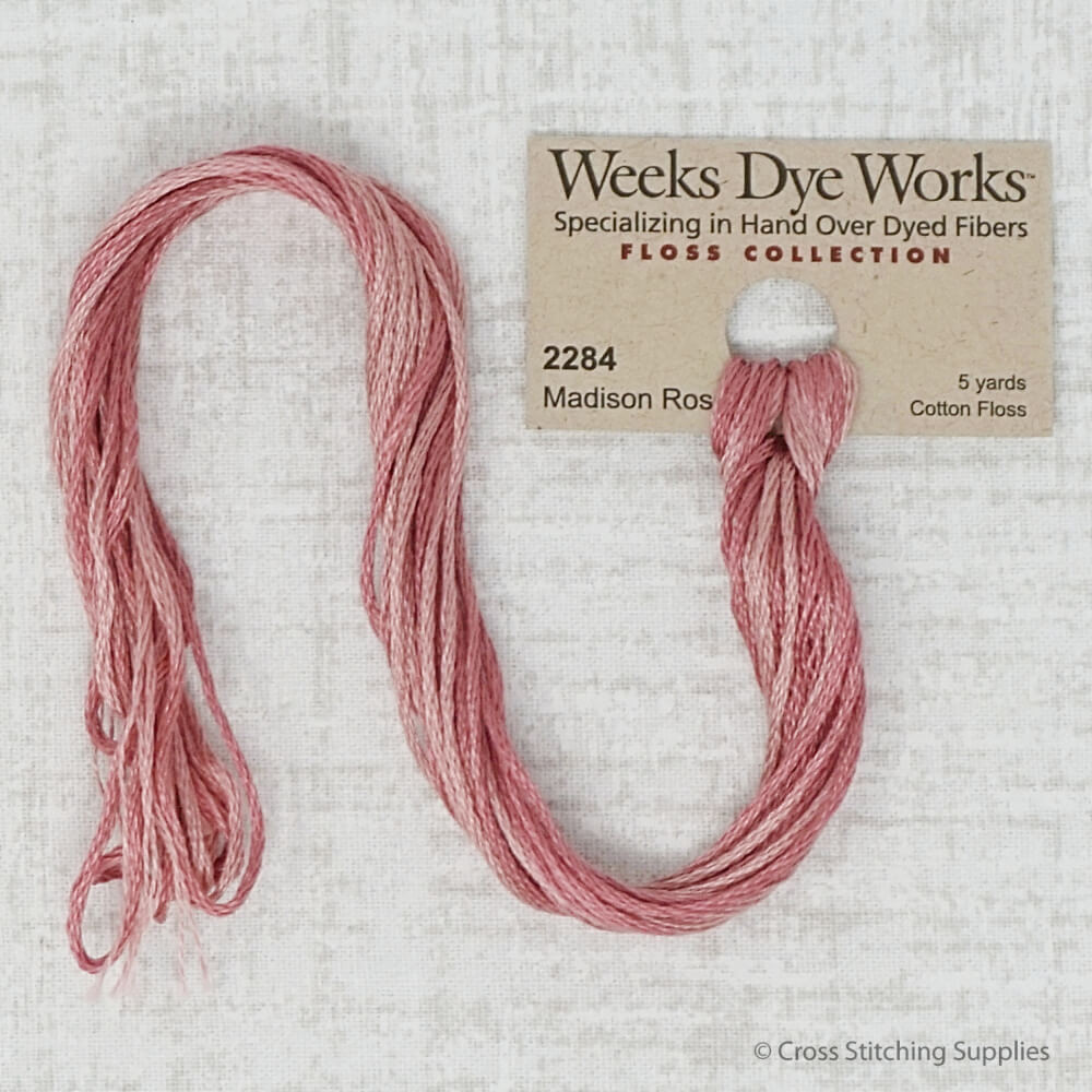 Madison Rose Weeks Dye Works embroidery thread