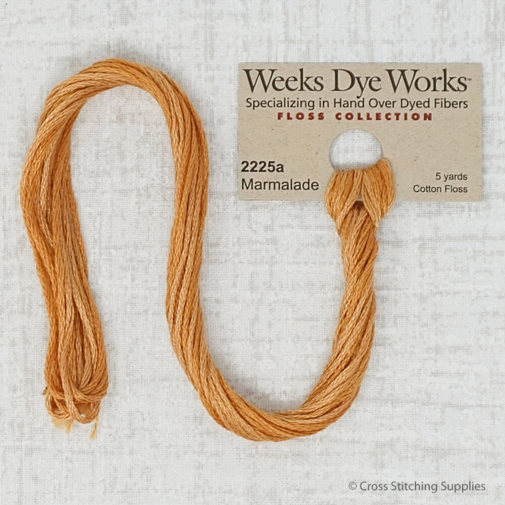 Marmalade Weeks Dye Works embroidery thread
