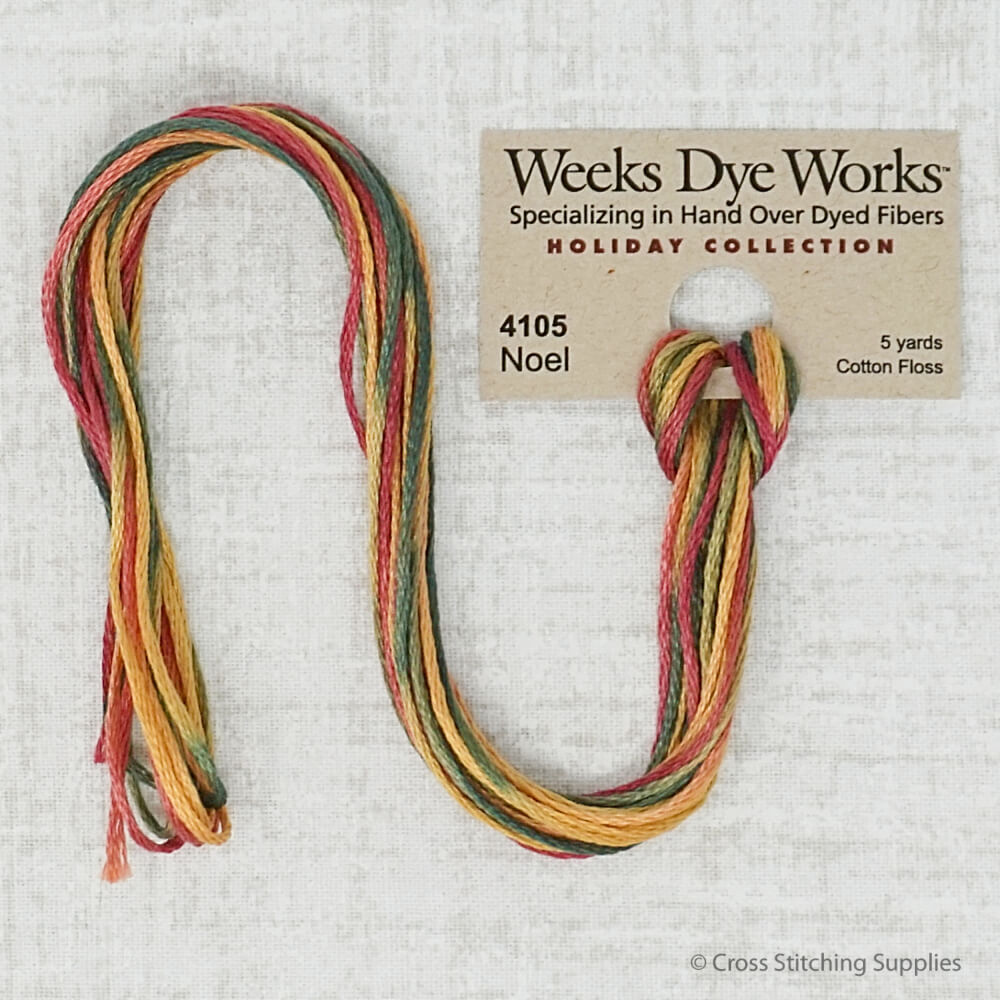 Noel Weeks Dye Works embroidery thread