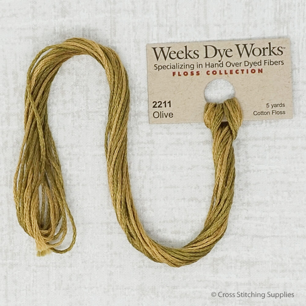 Olive Weeks Dye Works embroidery thread