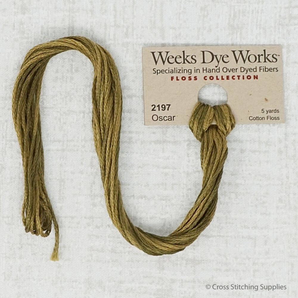 Oscar Weeks Dye Works embroidery thread