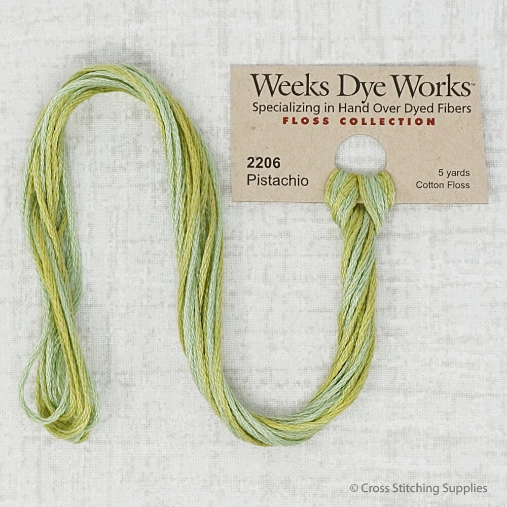 Pistachio Weeks Dye Works  embroidery thread