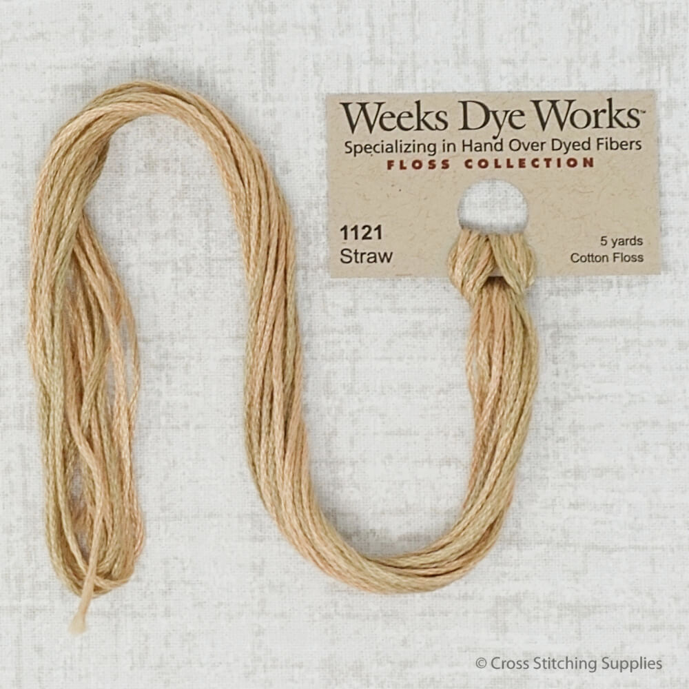 Straw Weeks Dye Works embroidery thread
