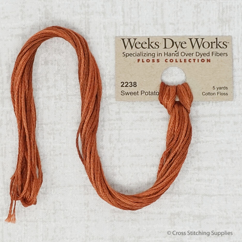 Sweet Potato Weeks Dye Works embroidery thread