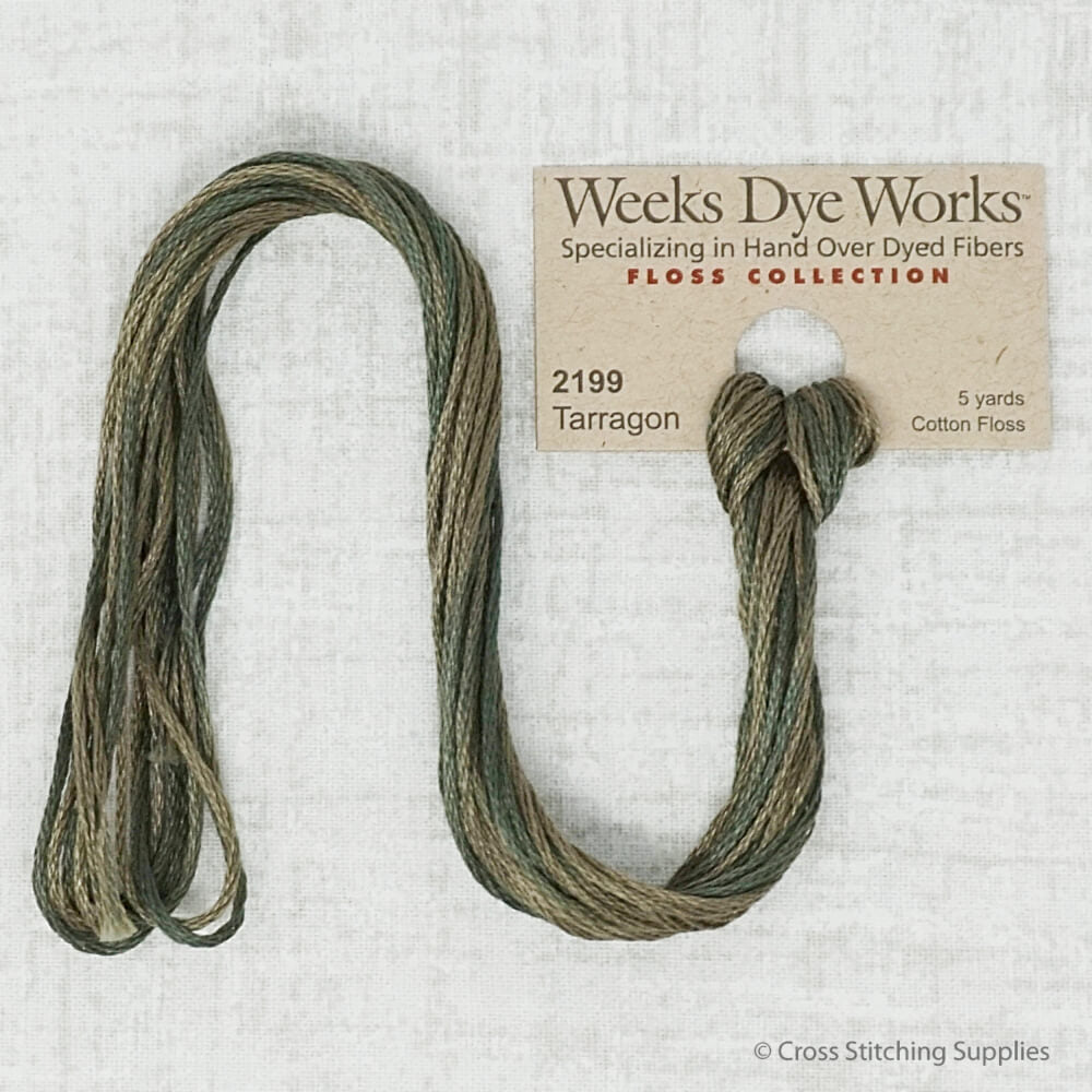 Tarragon Weeks Dye Works embroidery thread