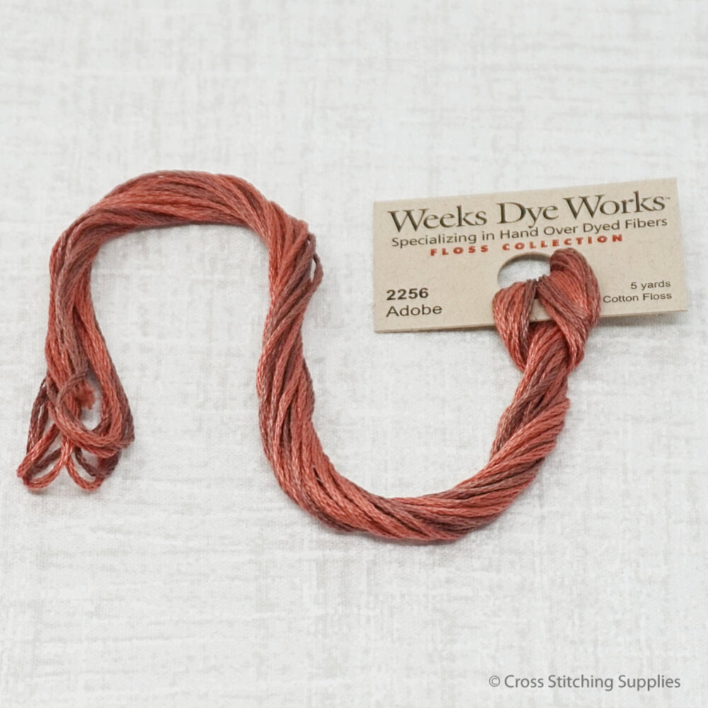 Adobe Weeks Dye Works embroidery thread