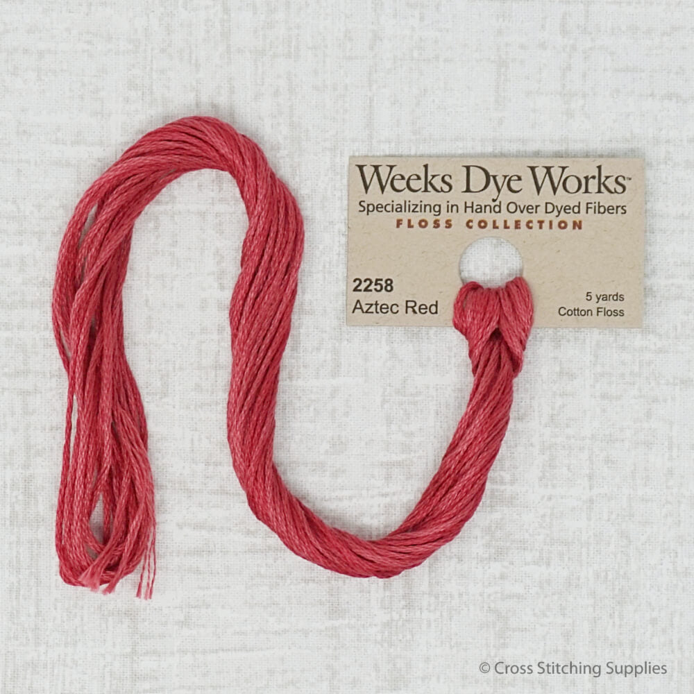 Aztec Red Weeks Dye Works Thread