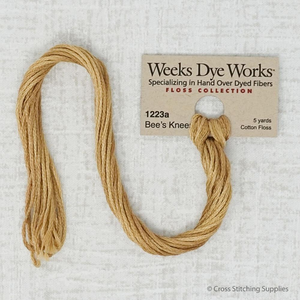 Bees Knees Weeks Dye Works Thread