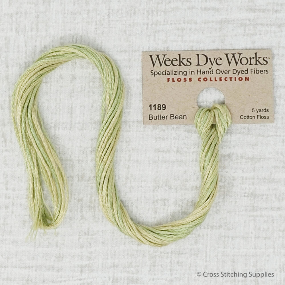 Butter Bean Weeks Dye Works Thread