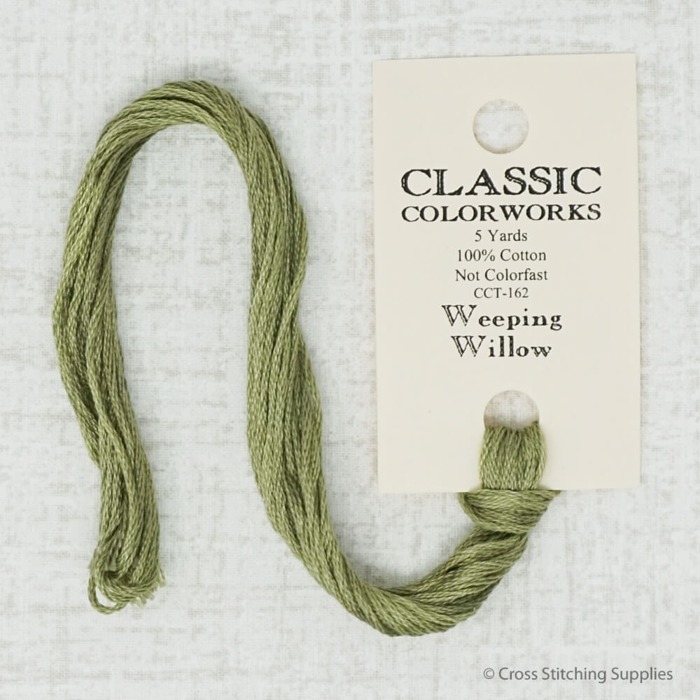 Weeping Willow Classic Colorworks embroidery floss
