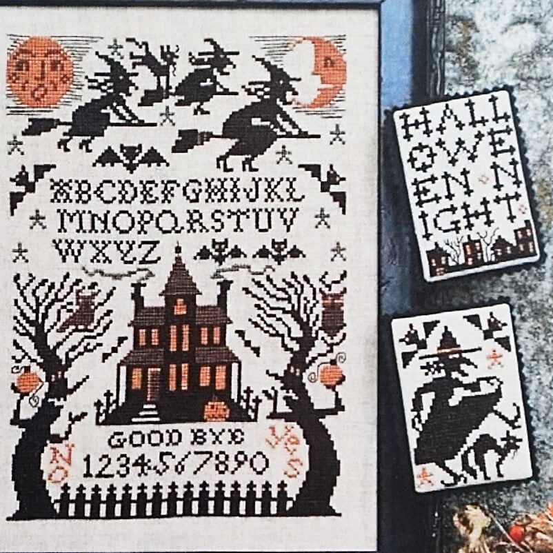 Witching Hour counted cross stitch pattern
