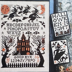 Witching Hour Cross Stitch Patterns | The Prairie Schooler
