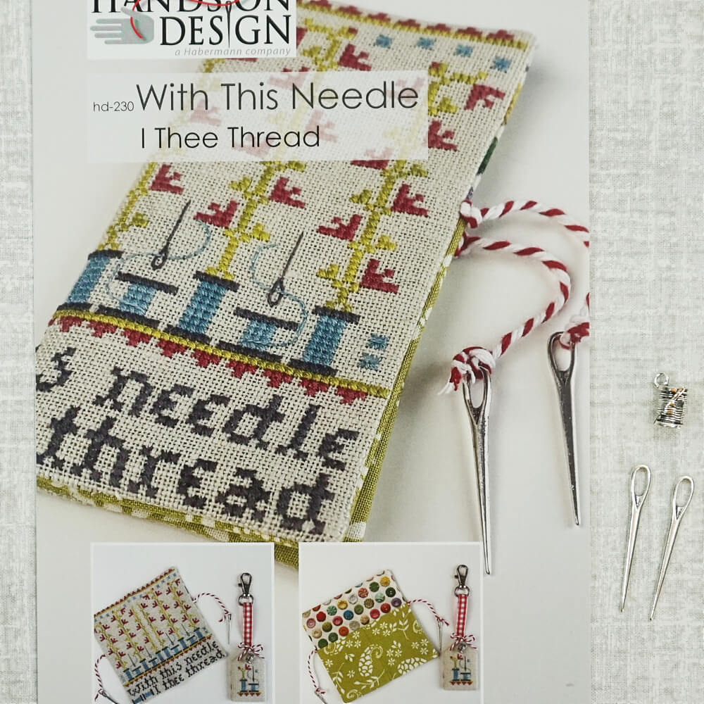 With This Needle I Thee Thread counted cross stitch patterns