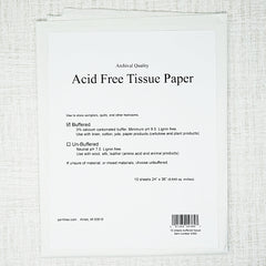 Acid Free tissue paper for cross stitch pieces