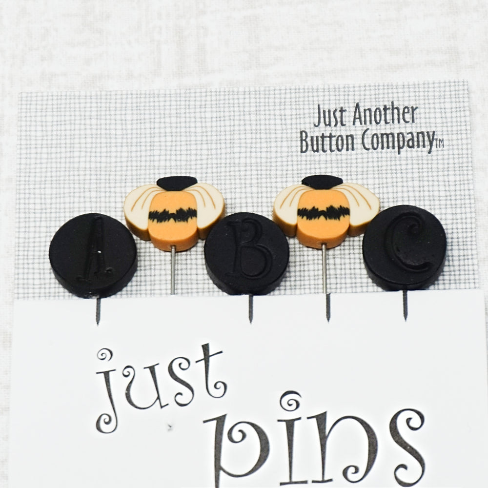 Spelling Bee - Just Another Button Company Pin Pack