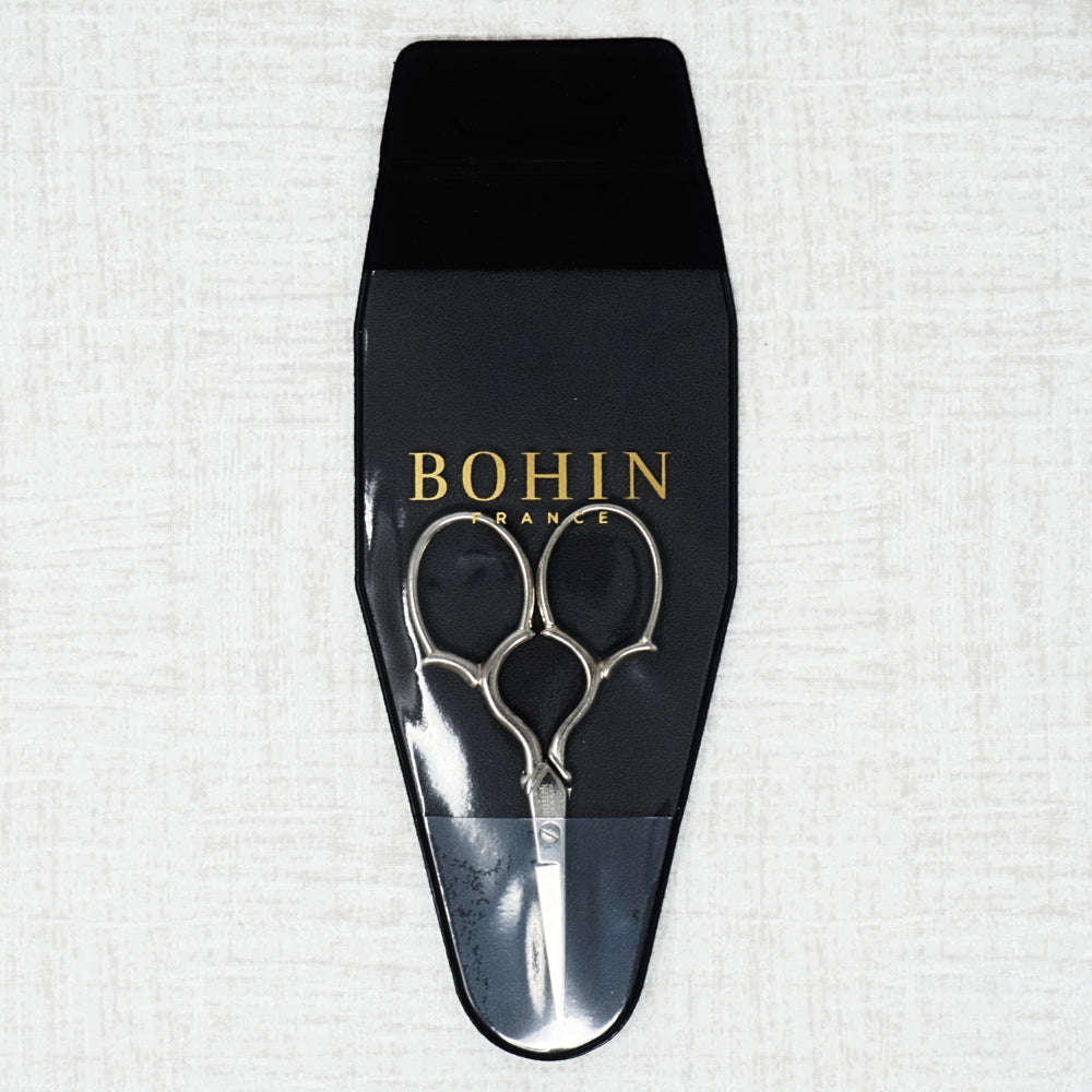 Bohin Large Handle Embroidery Scissors in Protective Sleeve