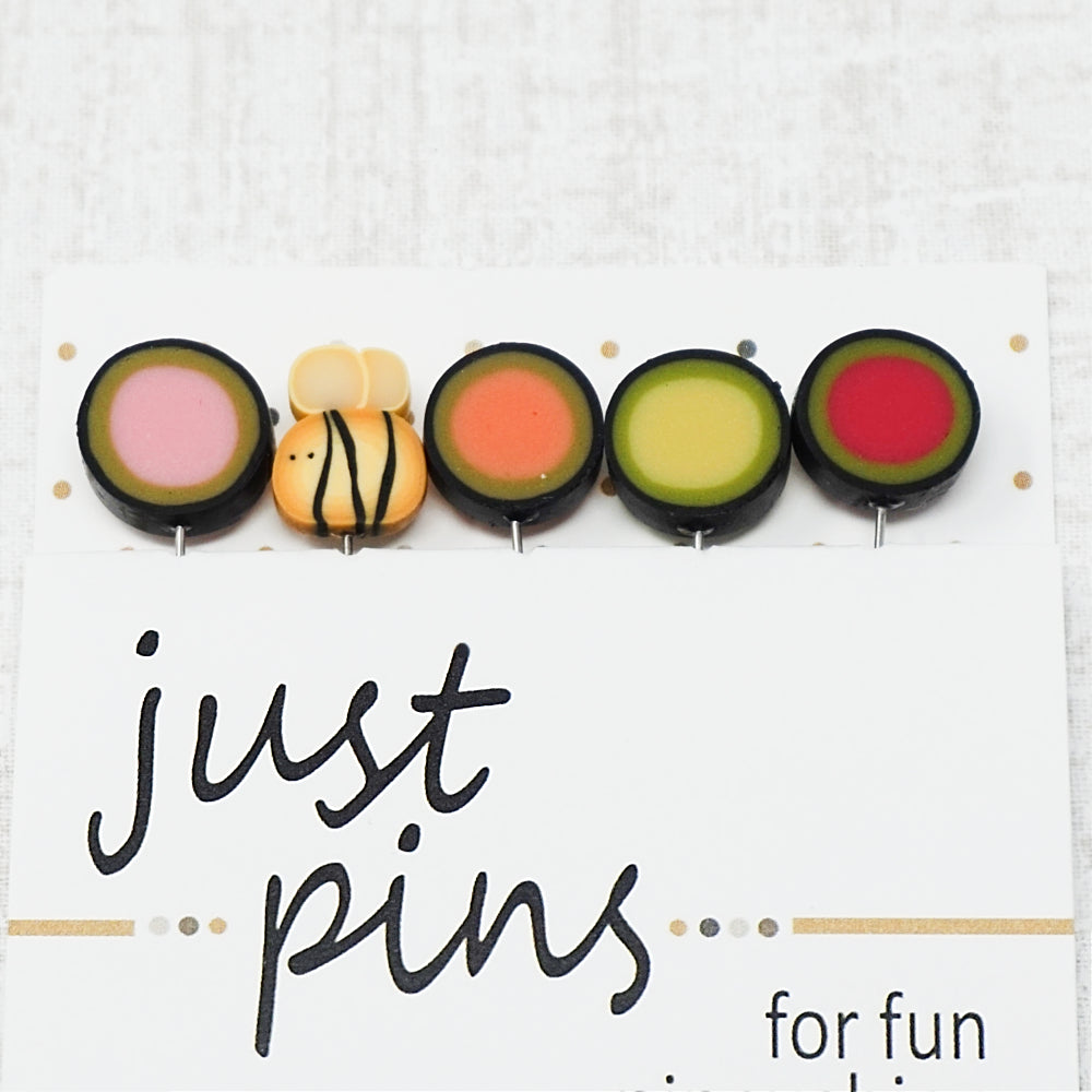 Buzzin' By - Just Another Button Company Pin Pack