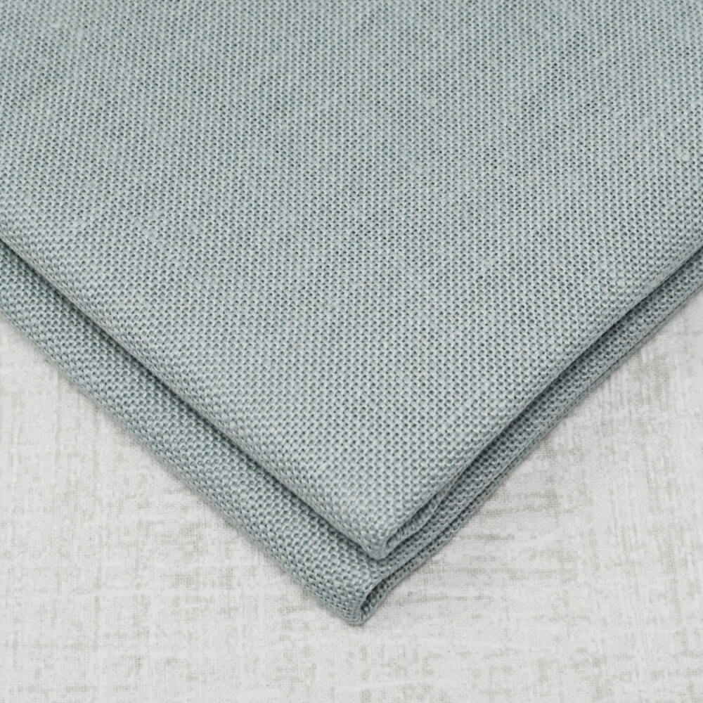 Confederate Grey 28 count cashel linen from Zweigart
