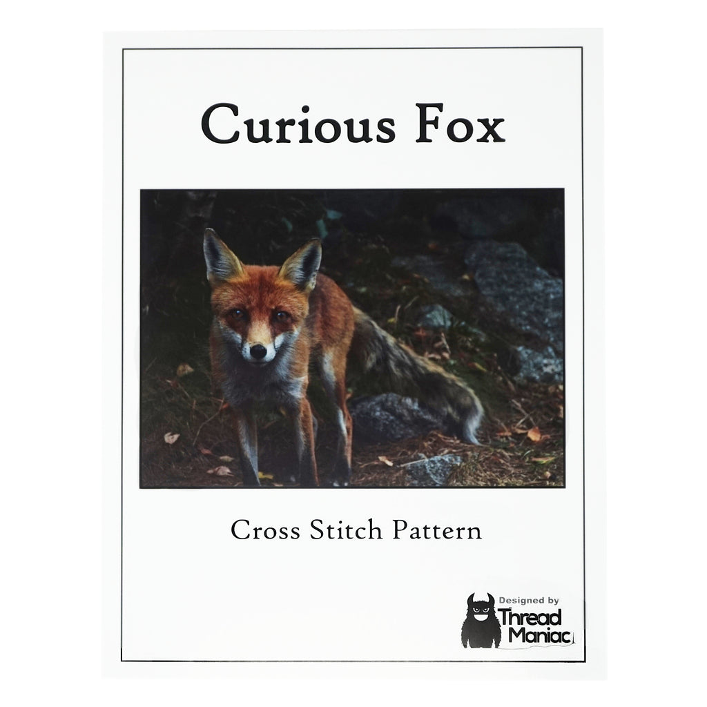Curious Fox Cross Stitch Pattern | Thread Maniac Designs